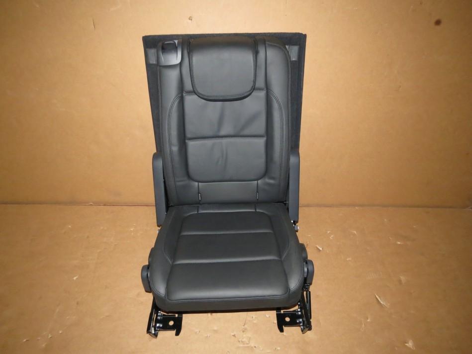 original vw sharan 7n facelift sitze 3 reihe leder schwarz. Black Bedroom Furniture Sets. Home Design Ideas
